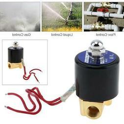 """1/4"""" Electric Solenoid Valve Water Oil Air Gas Welders 110 v"""