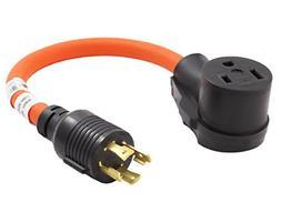 1.5 ft. Welder Adapter Generator Welder Plug Cord 250-Volt H
