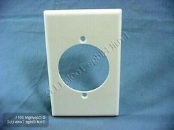 Leviton 80528-W 1-Gang Flush Mount 2.15-Inch Diameter, Devic