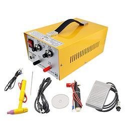 HUKOER 2 in 1 Pulse Sparkle Spot Welder 110V,Pulse-Electric