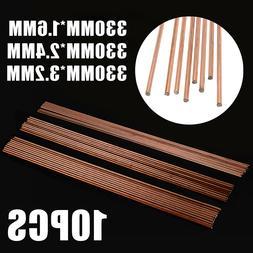 10Pcs 330mm Length Mild Steel TIG <font><b>Welding</b></font