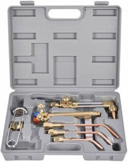 Goplus 10Pcs Oxygen  Acetylene Torch Kit, Welding  Cutting G
