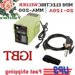 110/220V 20-120 AMP LCD MMA Stick Welding IGBT Inverter Weld
