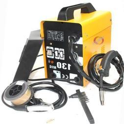 120AMP MIG 130 220V Flux Core Welding Machine Welder Spool W