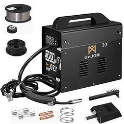 SUNCOO 130 MIG Welder AC Flux Core Wire Automatic Feed Gasle