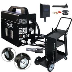 MIG 130 Welder Flux Core Automatic Feed Wire Free Welding Ma