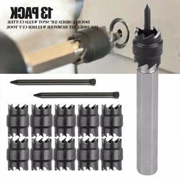 """13Ps/set Double Sided 3/8"""" Spot Welding Cutter HSS Drill Bit"""