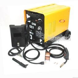 150AMP MIG 150 110V Flux Core Welding Machine Gas No Gas Wel