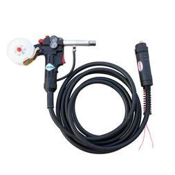 16Ft MIG Welder Spool Gun Wire Feed Aluminum Steel One Gas M
