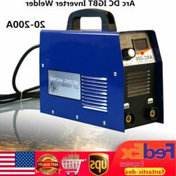 200A Mini Electric Welding Machine IGBT DC Inverter ARC MMA