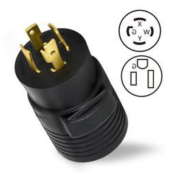 220-250V Dryer Welder Outlet Adapter Connector Plug 30AMP L1