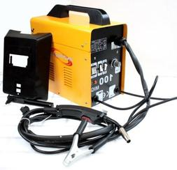 220V MIG100 Gas-Less Flux Core Welder 90 AMP Variable Wire F