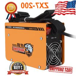 220v zx7 200 portable mma arc welder