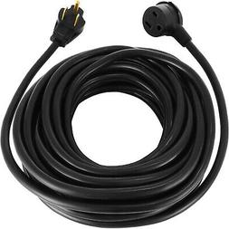25' 220 Volt 50 Amp Heavy Duty 8/3 Welder Extension Cord MIG
