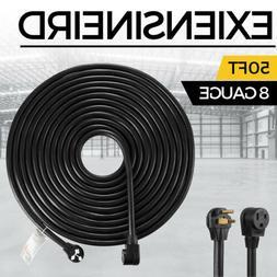 50' 220 Volt 50 Amp Heavy Duty 8/3 Welder Extension Cord MIG
