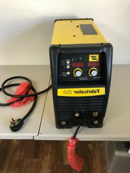 ESAB 252i 3 in 1 MIG, STICK, TIG WELDER NEW ON OPEN BOX WITH