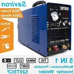 3 In 1 Multiprocess TIG Stick Pilot Arc Welder Plasma Cutter