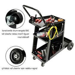 3 Tiers Welding Welder Cart Plasma Cutter Tank Storag MIG TI