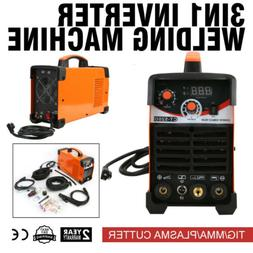 CT520D 3IN1 DC WELDING ARC WELDER TIG  PLASMA CUTTER 50A/200