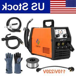 3in1 MIG TIG Welder 110V 220v Gasless Stick ARC TIG MIG Inve