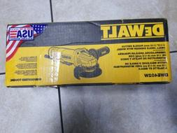 """Dewalt 4-1/2"""" Paddle Switch Small Angle Grinder With Wheel D"""