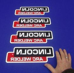 4 Lot OEM Hood Decal Fits Lincoln Arc Welder Sa 200 250 Sae