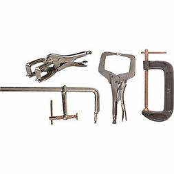 Hobart 4-Piece Welder's Clamp Set - Model# 770787