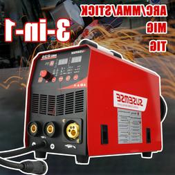 4in1 TIG/Stick/MIG Welder Flux Core 220V 235A Gas/Gasless In