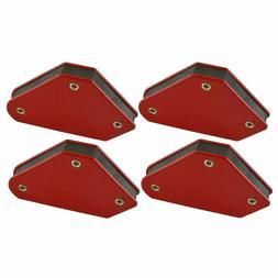4Pcs Mini Tack Welding Holder Welder Magnets Arrow Soldering