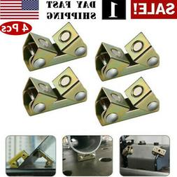 4x Adjustable Magnetic Welding Clamps V Type Pads Fixture Ho
