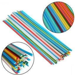 50pcs 5Color Plastic Welding Rods for Welder Sticks New