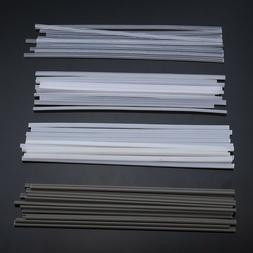 50pcs Plastic Welding Rods ABS/PP/PVC/PE Welding Sticks For