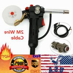 6Ft USA MIG Welder Spool Gun Wire Feed Feeder Aluminum Welde