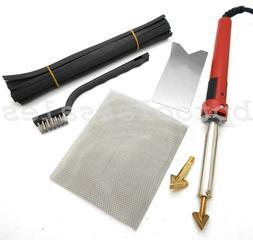 80 Watt Iron Plastic Automotive Welder Welding Kit w/ Weldin