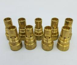 "9 PC Bernard DS-1B Gas Diffuser Centerfire .023""-1/8"" Weldin"