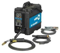 MILLER ELECTRIC 907518 Multiprocess Welder, Multimatic 200 S
