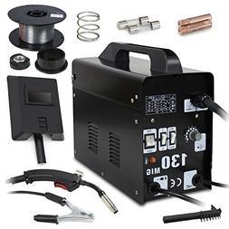 F2C AC Power Auto Feeder Mig 130 Gas-less Flux Core Wire Wel
