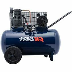Air Compressor, 30-Gallon Horizontal Tank, Portable, Single-