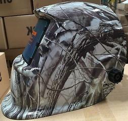 OSOYOO American Eagle Flag Solar Auto-darkening Welding Helm
