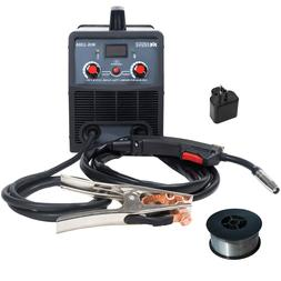 Amico MIG-130A, 130-Amp Flux Core Gasless DC Welder, 115V &
