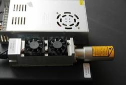 An Endurance 10 watt DPSS  1064 nm  laser attachment.