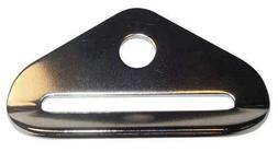 Anchor Plate, 1 In., SS, PK2