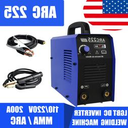 ARC225 MMA ARC Interver IGBT Stick 110/220V DC Portabel Weld