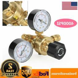 Argon CO2 Gas MIG TIG Flow Meter Regulator Pressure Control
