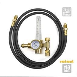 Argon Flowmeters Regulator w/ Hose, Welding cga580 Miller Li