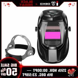 DEKO Auto Darkening Hood Mig Tig Arc Welding helmet with Adj
