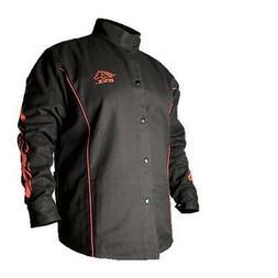 Black Stallion BSX BX9C 9oz. FR Cotton Welding Jacket Black