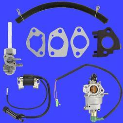 Powermax Carburetor w/ Solenoid Petcock Coil for XP4000WGE 3