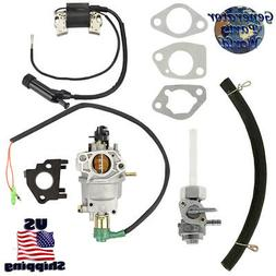 Powermax Carburetor w/ Solenoid Petcock Coil for XP4000WGE 4