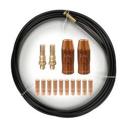 Contact Tips Nozzle Diffuser Liner fits Linc. Weld-Pak 100 1
